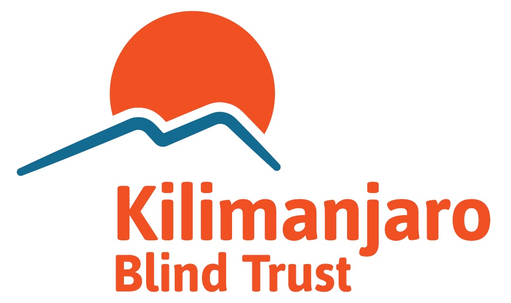 Kilimanjaro Blind Trust Logo (Red-Blue)